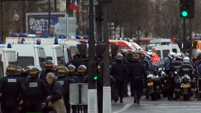 At least 2 killed as armed man takes hostages in kosher grocery store in Paris