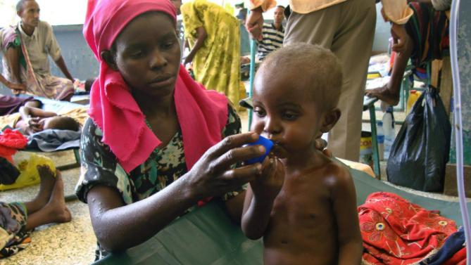 More than 200,000 Somali children face starvation says UN