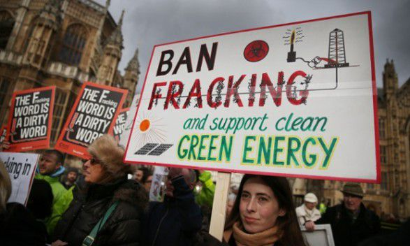 David Cameron rejects call for fracking ban