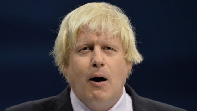 London Mayor Boris Johnson 'sympathizes' with Prince Andrew