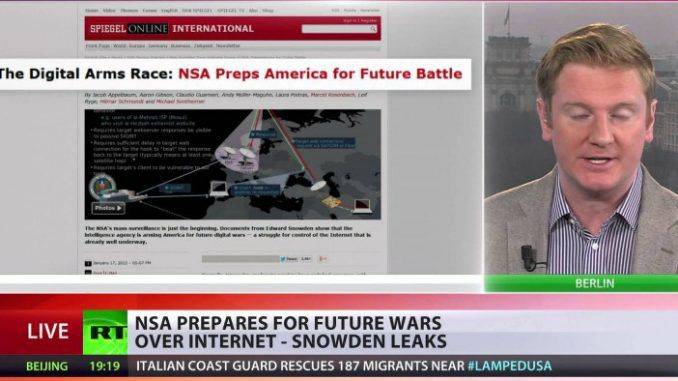 Snowden uncovers truth on US digital war plans (Video)