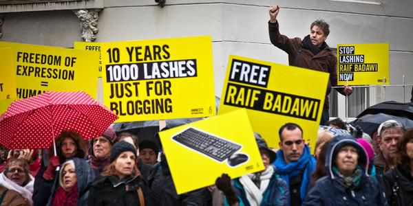 Flogging of Raif Badawi postponed as wounds not healed - case referred to Supreme Court