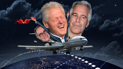 Flight records place Bill Clinton and Alan Dershowitz on sex offender's private jet