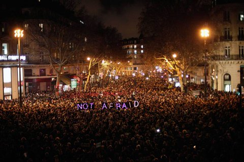 Vigils Across The World as Hebdo Suspects Identified