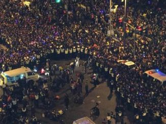 35 killed in Shanghai New Year's stampede
