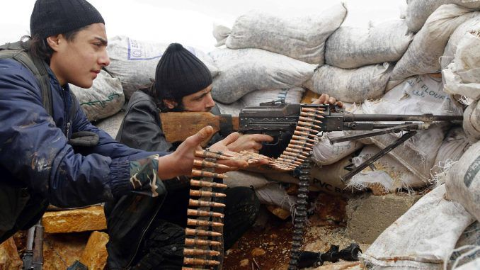 Pentagon dispatches first batch of US forces to train Syrian rebels