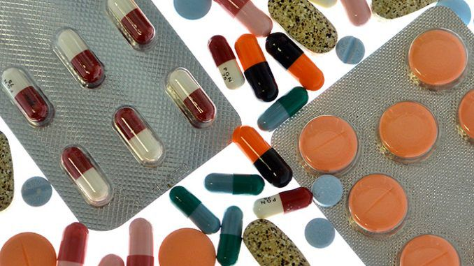 Nearly half of Brits on prescription drugs