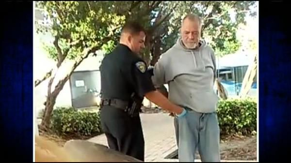 Officer suspended after slapping homeless man