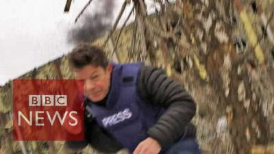 BBC Reporter Almost Killed by Ukrainian Shell As He Accuses Rebels of Shelling
