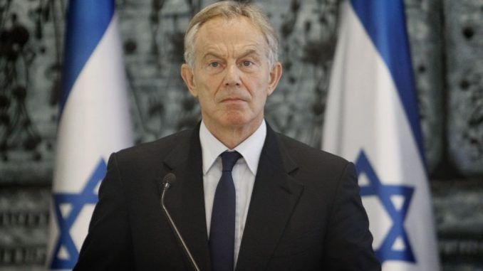 Peace Envoy Tony Blair Blackmailing Hamas