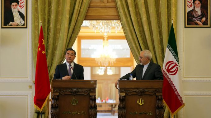China urges Iran to uphold its right to 'peaceful use of nuclear power'