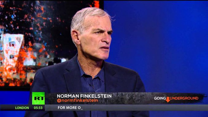 Netanyahu is a maniac says Norman Finkelstein (Video)