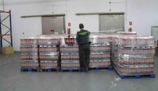2,500 Tons of Fake Food And Drink Seized