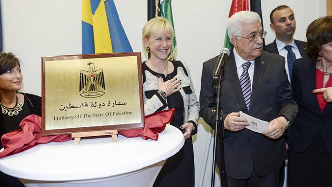 Palestine opens first embassy in Western Europe