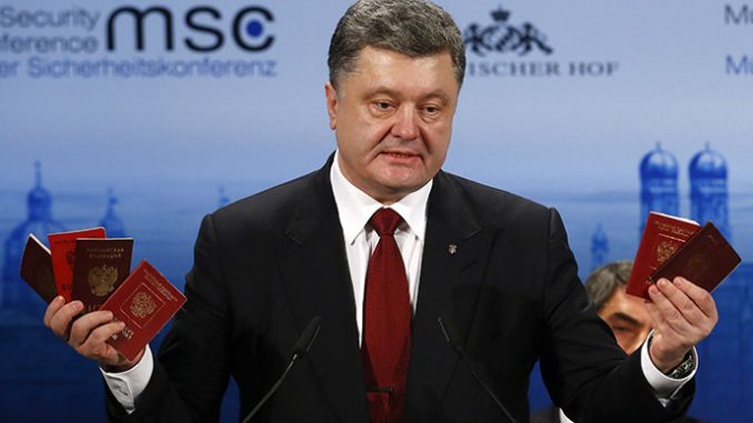 Poroshenko's 'Russian army evidence' raises eyebrows
