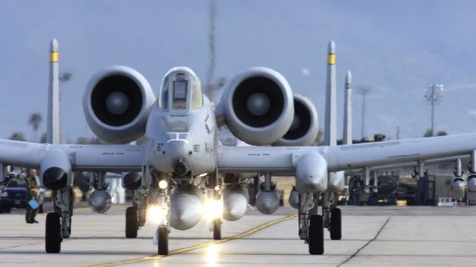 Amid Ukraine tension Pentagon deploys A-10 attack jets and 300 pilots to Germany