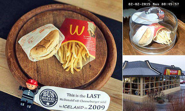 What happened to the last McDonald's meal in Iceland?