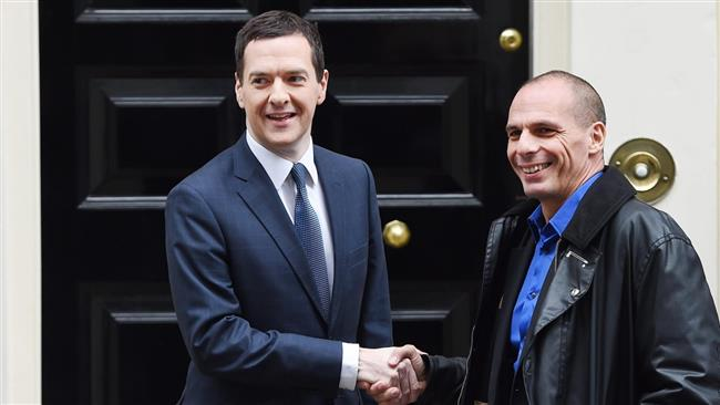 Osborne -Greek debt row could pose greater risk to global economy than Middle East conflict