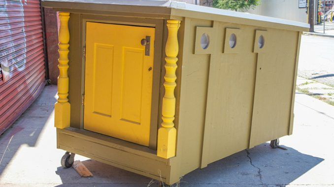 Artist Transforms Trash Into Tiny Homes For The Homeless