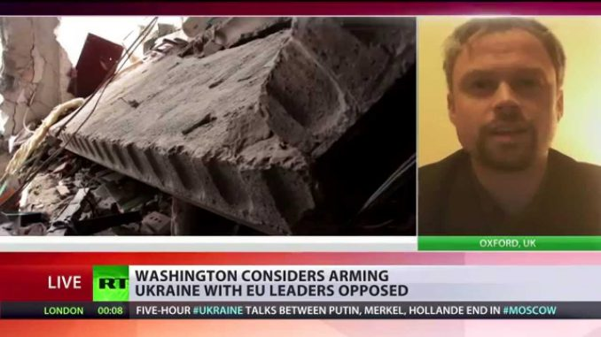 'US & UK try to sabotage any Ukraine peace agreement' (Video)