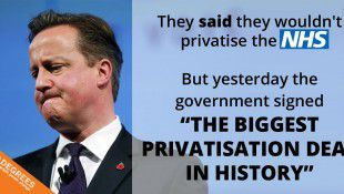 NHS: Tories Sign Largest Ever Privatisation Deal Worth £780MILLION