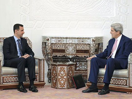 John Kerry - 'Military Pressure' May Be Needed To Oust Syrian President