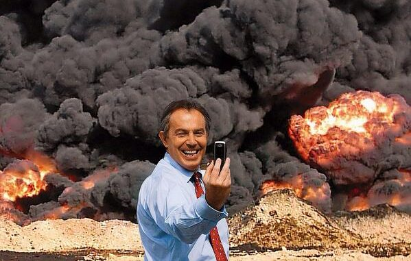 Tony Blair Stepping Down As Peace Envoy