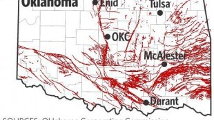 """300-Million-Year-Old Fault Lines Across Oklahoma Are Being """"Reawakened"""""""