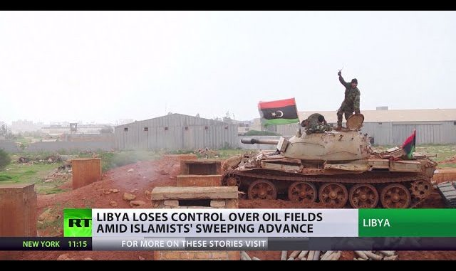 Libya Loses Control Over Oil Fields In The Islamic State's Sweeping Advance (Video)