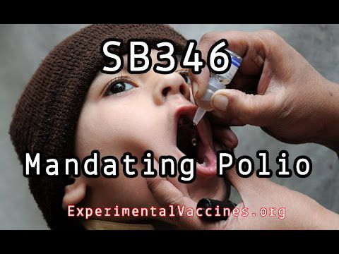 North Carolina SB346 Mandates Polio Vaccine Removing Religious Exemption (Video)