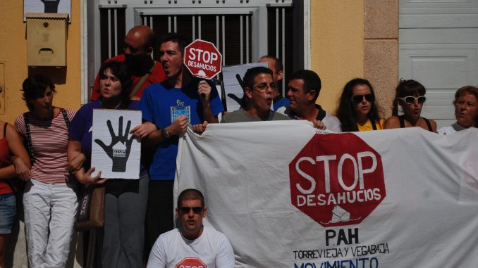 Almost 100 families evicted daily in Spain