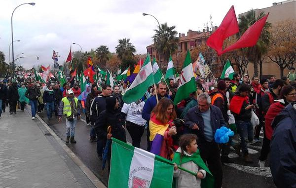 Crowds Gather For Anti-Austerity March In Spain