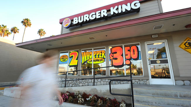Burger King Drops Sugary Soft Drinks From Kids' Menu