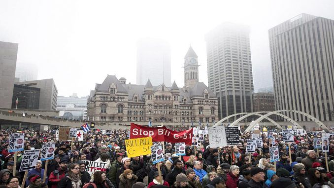 Thousands Unite Across Canada Against New Anti-Terror Law