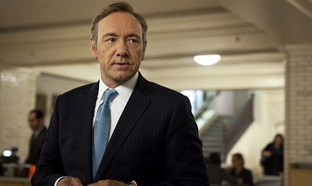 Kevin Spacey_ as U.S. Rep. Frank Underwood