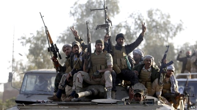 Iran Backs Iraq Military Campaign to Reclaim Tikrit From ISIS