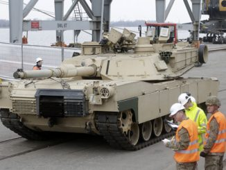Over 100 US Armored Vehicles Arrive In Latvia