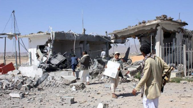 Several Dead As Airstrikes Hit Refugee Camp In Northern Yemen
