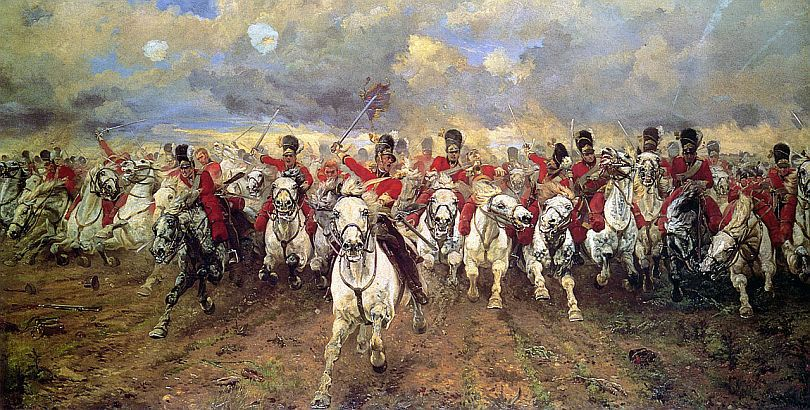 Charge of the Scots Greys_Scotland Forever