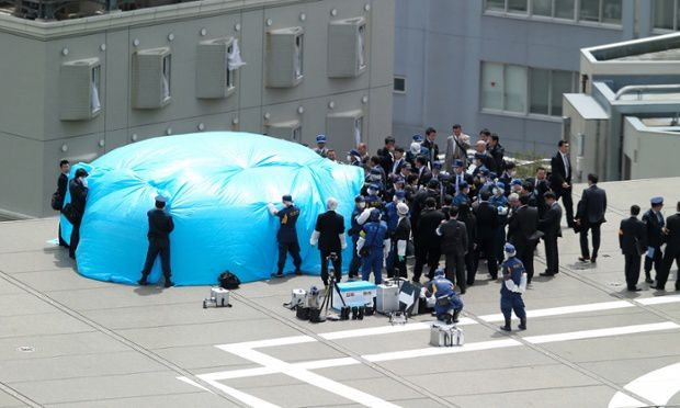 A Radioactive Drone Lands On The Office Roof Of Japanese PM