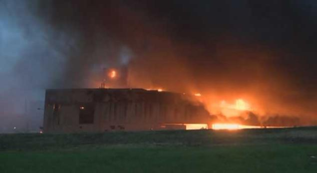 Massive Blaze Raging At General Electric Building In Kentucky