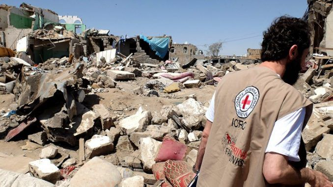 Coalition Preventing Red Cross Delivering Aid In Yemen