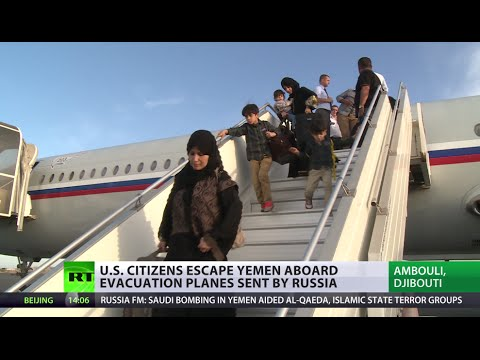 American Citizens Escape Yemen Bombing On Russian Planes