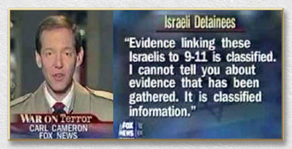 Banned Fox News Footage: 9/11 And Mossad - News Punch