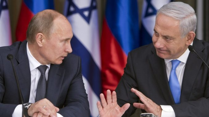 Netanyahu Tells Putin That Missile Sale to Iran Undermines Middle East