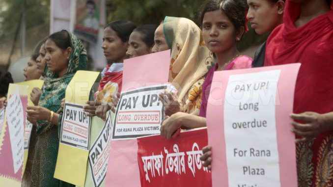 Retail Giants Fail To Pay Compensation To Rana Plaza victims