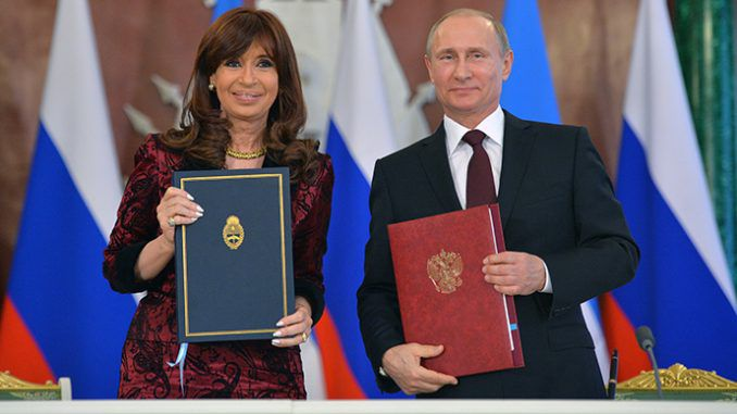 Russia And Argentina Sign Energy Deals