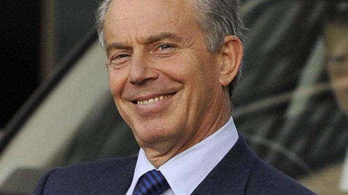 Tony Blair Accused Of Bidding For Global Domination - Vows To Set Up Leaders Club