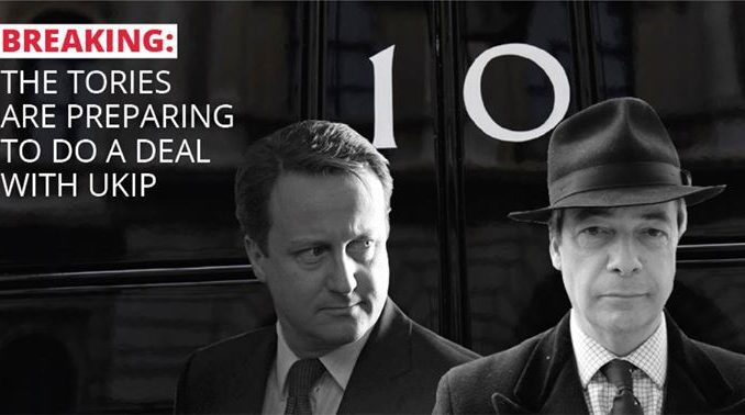 The Tories And UKIP Prepare To Work Together