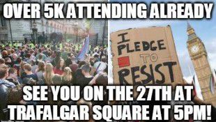 Anti-Tory protests
